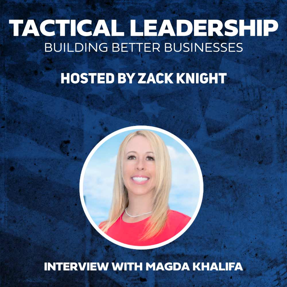 Magda Khalifa featured on the podcast.