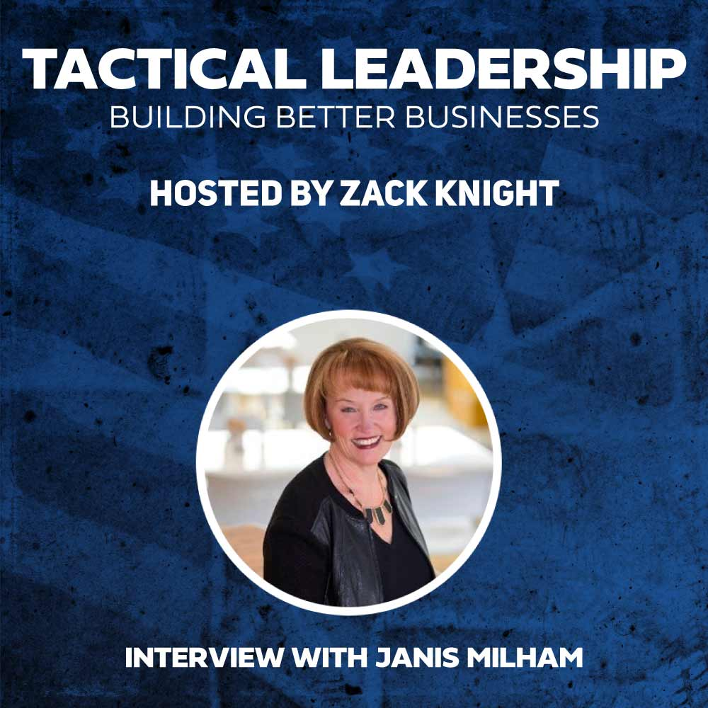 Janis Milham featured on the podcast.